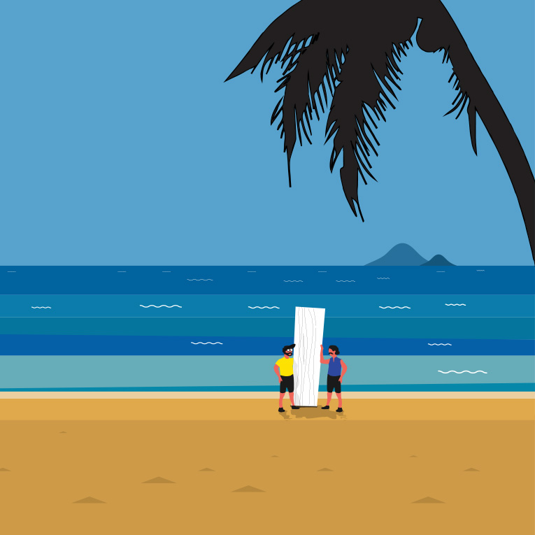 Surfing IP